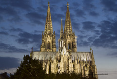 """Cologne Cathedral in the Evening • <a style=""""font-size:0.8em;"""" href=""""http://www.flickr.com/photos/45090765@N05/14988470521/"""" target=""""_blank"""">View on Flickr</a>"""