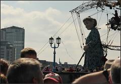 Giant Granny (catb -) Tags: street giant theatre puppet grandmother granny saga limerick marionette royaldeluxe cityofculture jeanluccourcoult lagrandmèregéante thegiantsjourney