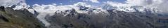 Monte Rosa panorama (Twilight Tea) Tags: alps switzerland august glacier zermatt monterosa pennine valais 2014 findel