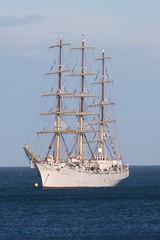 Dar Mlodziezy (joolsgriff) Tags: sailing ship sail tallship douglas isleofman darmlodziezy