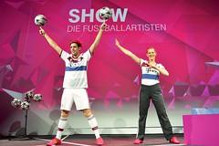 Sport-Act auf der IFA 2014 (Die Fussballartisten) Tags: berlin telekom messe freestyler ifa funkausstellung sportshow künstler bühne fusballartisten