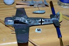 Airfix Focke Wulf FW 190 A8 1/72 (Nano Second Artist) Tags: lens nikon kit 1855mm 172 190 fw a8 airfix wulf focke d3100
