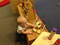 "Playing at the DuPage Children's Museum • <a style=""font-size:0.8em;"" href=""http://www.flickr.com/photos/109120354@N07/15128533849/"" target=""_blank"">View on Flickr</a>"