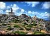 The tower (vadaszphotos) Tags: sardegna blue sky lighthouse tower rock landscape torony ég tájkép kék sziklák nikond40 szardínia
