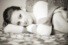 Sweetness (Storie In Luce) Tags: portrait bw white black color film girl analog canon polaroid photography eyes colore time andrea first bn occhi dolce f e boudoir mm usm prima 18 sweetness 85 bianco ritratto nero dolcezza volta dolci ragazza 6d 669 timida timidezza 665 analogico timidi vallana