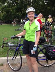 WABA 50 States 13 Colonies 2014 Kathy (Mr.TinDC) Tags: friends people cyclists washingtondc dc biking kathy waba 50statesride waba50statesride 13coloniesride
