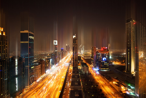 street panorama skyline night cityscape motorway sony united luke emirates masks khalifa arab freeway roads hdr burj luminance onone duabi a7r