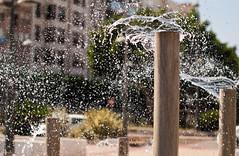 Almera fuente en la Rambla (jr@renillas) Tags: summer fountain dispenser fuente drop promenade verano gota almera rambla surtidor jrrenillas