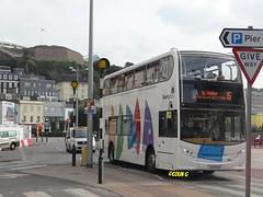 Libertybus 602 (Coco the Jerzee Busman) Tags: uk bus liberty islands coach nimbus ct jersey plus dennis dart channel caetano