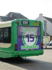 JMB Travel, Newmains SK52OJR (busmanscotland) Tags: buses pointer 71 dennis ojr lrt dart lothian slf plaxton sk52 sk52ojr