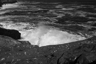 from Gull Rock toward White Head, Monhegan, Maine, Nikon D40, Vivitar 28mm f-2.8, 9.22.14