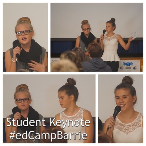 Student Keynote at #edCampBarrie 2014