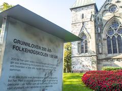 Utstilling ved Domkirka i Stavanger