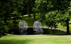Cheekwood Botanical Garden (Retrograde Works) Tags: flowers sculpture plants nashville botanicalgarden cheekwood jaumeplensa