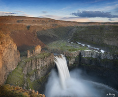 Palouse Falls (sking5000) Tags: palouse falls washington evening waterfall state park