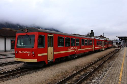 Zillertalbahn VT4 und VT7, Jenbach