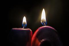The big TEN! (Doug.Mall) Tags: macro candles candlelight macromondays happy10years anniversary