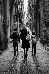 Discovering Naples (Untalented Guy) Tags: napoli naples napule strada via blackwhite white black monocromo mono bianco nero discovering 35mm canon street 35 f2 people persone città city walking walk explore