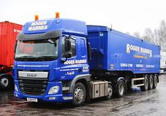 DAF CF Roger Warnes FG16KYY Frank Hilton IMG_5137_1_1 (Frank Hilton.) Tags: classic truck lorry eight wheel maudsley aec atkinson albion leyalnd bristol austin outside heavy haulage crane 8 axle
