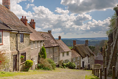 Nothing Changes 'Round Here (darren.cowley) Tags: cottages view scene english countryside skyline historic iconic goldhill dorset descent hill hovis ridleyscott cloudformations architecture peaceful tranquil cobbledstreet heritage