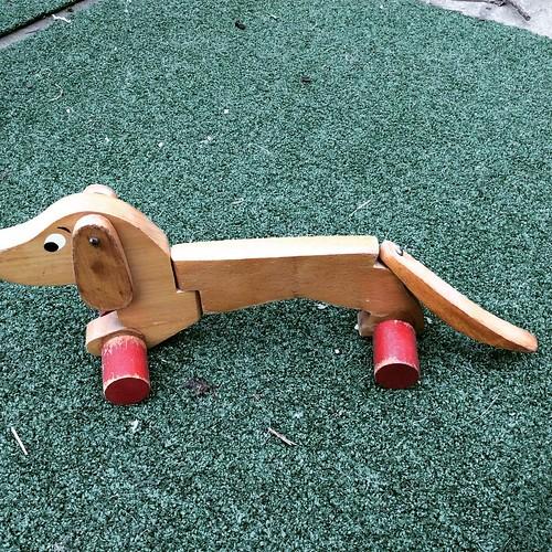 Vintage wooden toy