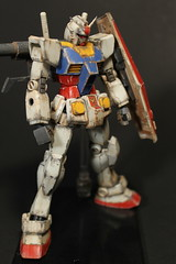 RX 78-2 Gundam (jaqio) Tags: rx 782 gundam rx782gundam universal century model kit paint anime japan bandai toy photography hobby cannon dslr digital