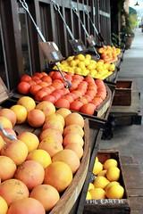 Orange (camilaimbire) Tags: fruit orange colour winters california fruitstand