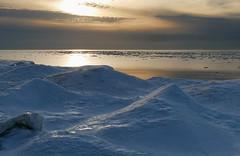 Late winter afternoon by Lake Huron (virgil martin) Tags: snow ice lake lakehuron ontario canada panasoniclumixg85 oloneo gimp