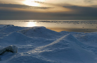 Late winter afternoon by Lake Huron