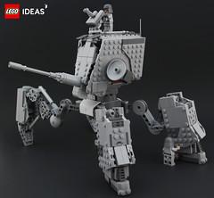 AT-MAW (DeadGlitch71) Tags: photography lego starwars atmaw atst space mech mecha imperial army tank artillery scifi scfi allterrain walker