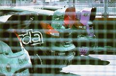 Fujica ST Red Bull GRC Los Angeles 3 (▓▓▒▒░░) Tags: vintage classic retro 35mm film camera slr porst fujica pentax japan germany 1970s redbull grc rally cross 2014 scott speed ken block tanner foust race car motorsport track losangeles sanpedro longbeach vw volkswagen subaru ford focus hyundai