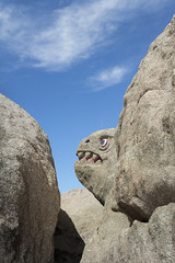 The Dweller in The Rocks (charles25001) Tags: sculpture historical boulderpark jacumba depressionera whimsical roadside roadsideatrraction desertviewtower oldhwy80 hwy80 sandiegocounty