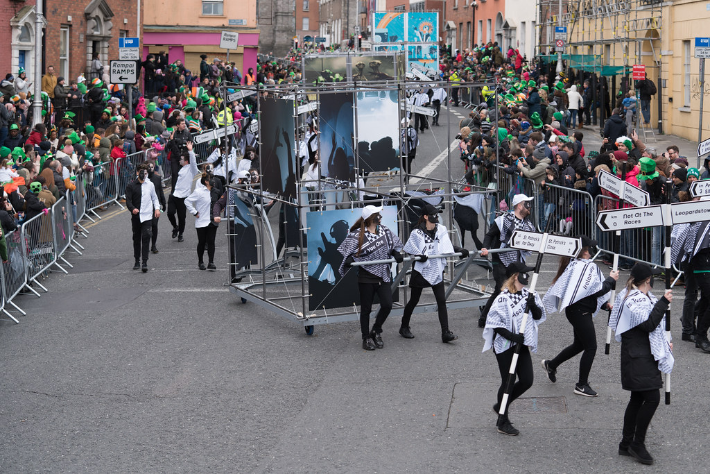 DUBLIN INSTITUTE OF TECHNOLOGY [PATRICKS DAY PARADE IN DUBLIN 2017]-126059