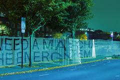 Low Carbon Hub — Lightpainting Energy Abstract (fieldworkfacility) Tags: fieldworkfacility installation intervention lightpainting lowcarbonhub robinhowie typographic urban