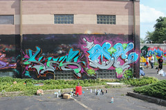 Kes, Oc (NJphotograffer) Tags: graffiti graff new jersey fresh jam 2016 nj terracycle kes oc mhs crew