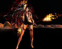 TerraMerhyem_2016_Shaman_03 (TerraMerhyem) Tags: sorcière sorcellerie sorcery magie shaman chamane chamanisme shamanism feu fire bruler burning terramerhyem merhyem sorciere witch magic femme woman belle beauté beauty flammes ritual rituel chamanique shamanic sexy