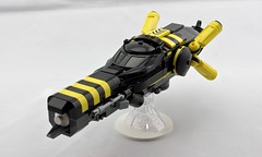 """Dragonfly"" Fighter-Bomber (Deltassius) Tags: lego space fighter scifi future 200 years dive bomber spaceship"