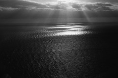La Ciotat, France (owain_e) Tags: filmphotography filmsnotdead film blackandwhite mono sea seascape light rays clouds texture minolta sun sunlight ocean nature travelphotography travel la ciotat france 35mm landscape
