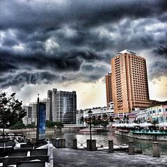 Storm Clouds (Nikita Hengbok) Tags: stormclouds singaporeriver clarkequay