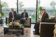 PM visit to Saudi Stock Exchange (The Prime Minister's Office) Tags: jayallen primeminister theresamay downingstreet no10 saudiarabia bilateral visit saudistockexchange stockexchange