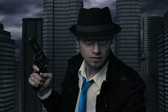 Dark is Revenge (The Infamous Blue Tie) Tags: film noir dark city the infamous blue tie aaron g randall
