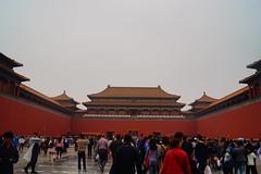 Forbidden City (cielopedernal) Tags: beijing pekin china forbbidencity ciudadprohibida tiananmen tiananmensquare yonghegong jingshanpark city ciudad culture cultura plazatiananmen mao