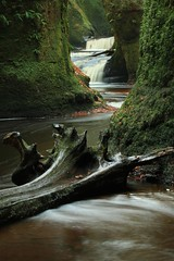 Finnich Glen (Gordon.A) Tags: scotland stirlingshire killearn finnichglen carnockburn waterfall water nature outdoors scottish river burn glen gorge canon longexposurephotography