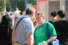 Valery Bolotov with Jewish man23 (bobmendo) Tags: streets metro mission yeshua outreach subways evangelism missionaries jewsforjesus streetevangelism moscow2014 moscowcampaign