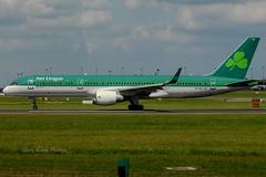 Aer Lingus Boeing 757-200 EI-LBS EIDW 310514 (gerrykane214) Tags: ireland dublin airport aviation may international commercial boeing aer takeoff 757 lingus 2014 757200 rwy28 eidw eilbs