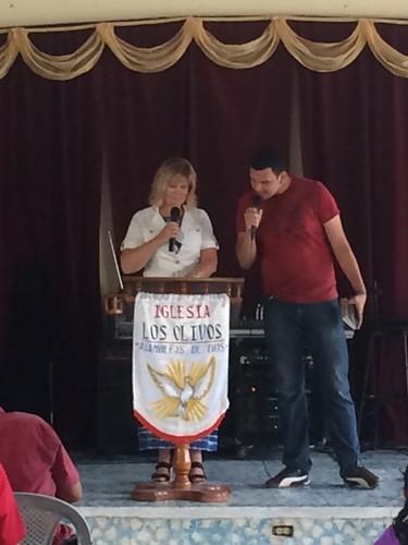 Cheryl in Honduras
