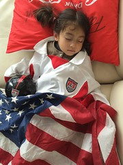 177/365 USA! USa. uszzzzzz... (ajbrusteinthreesixfive) Tags: world usa game cup america project germany aj fan photo nap kylie sleep flag 4 year nike american 365 cheer iphone photoproject 5s fwc brustein 366 threesixfive threesixsix