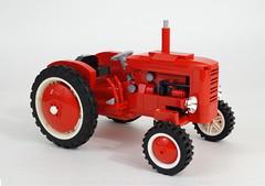 01 (LegoMarat) Tags: tractor lego retro technic moc