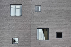 Five Random Windows (Squirrel_bark) Tags: windows summer abstract brick glass wall nashville tennessee ransom countrymusichalloffame countymusic joeldeyoungphotography