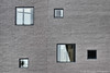 Five Random Windows (Squirrel_bark) Tags: windows summer abstract brick glass wall nashville tennessee ransom countrymusichalloffame countymusic joeldeyoungphotography